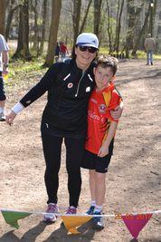 Yvonne Mulcahy (& son)