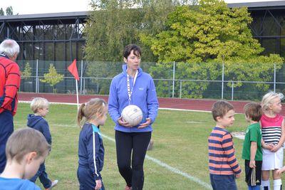 Una Shortall -Secretary & Trainer U8s
